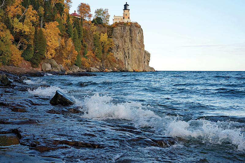 Rider Minnesota North Shore Split Rock Lighthouse