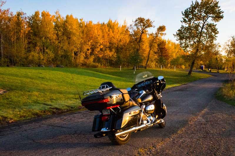 Rider Minnesota North Shore Harley-Davidson Ultra Limited