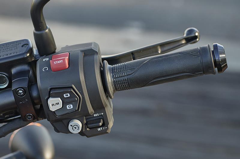 Honda DCT Dual Clutch Transmission Rebel 1100 right grip