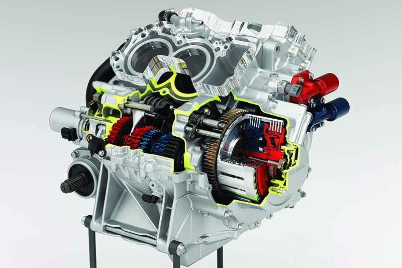 Honda DCT Dual Clutch Transmission cutaway