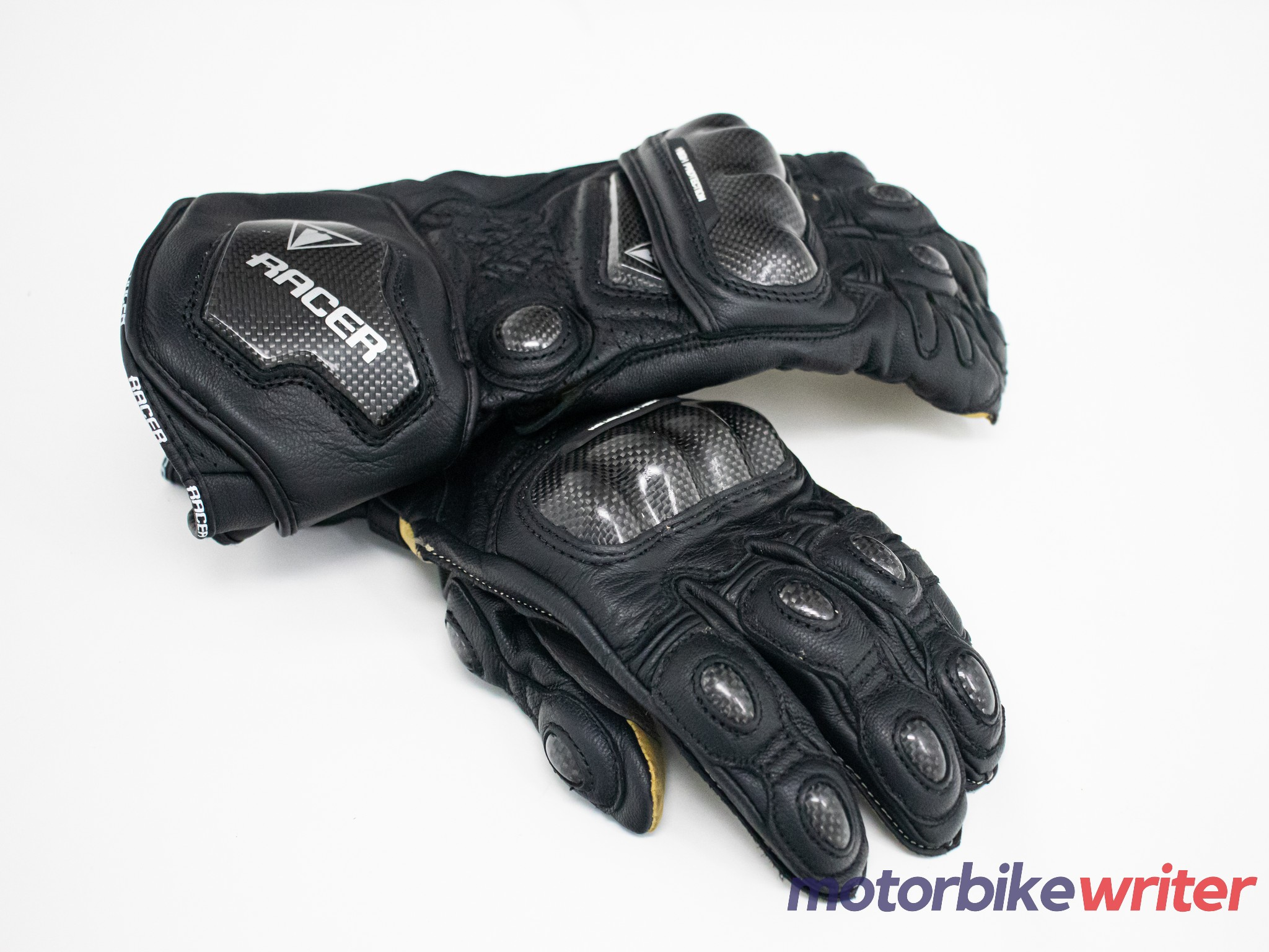 Top view of the High Racer gloves