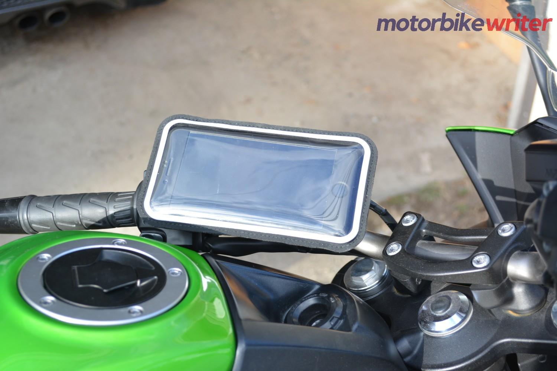 Shapeheart kit with phone inside plastic sleeve
