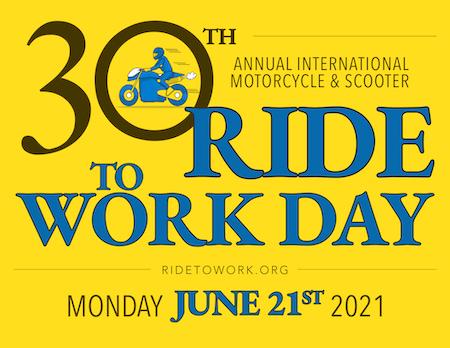 Ride to Work Day 30th anniversary