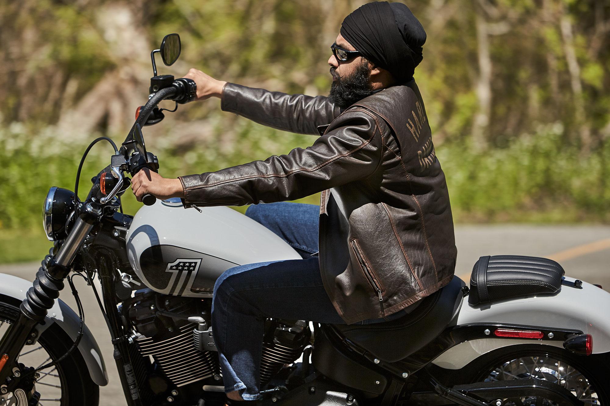Tough Turban Sikh motorcycle helmet