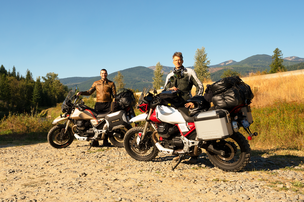 A Dream Come True - Two Buddies Tour the Rocky Mountains Moto Guzzi Spirit of the Eagle Rideaway V85 TT