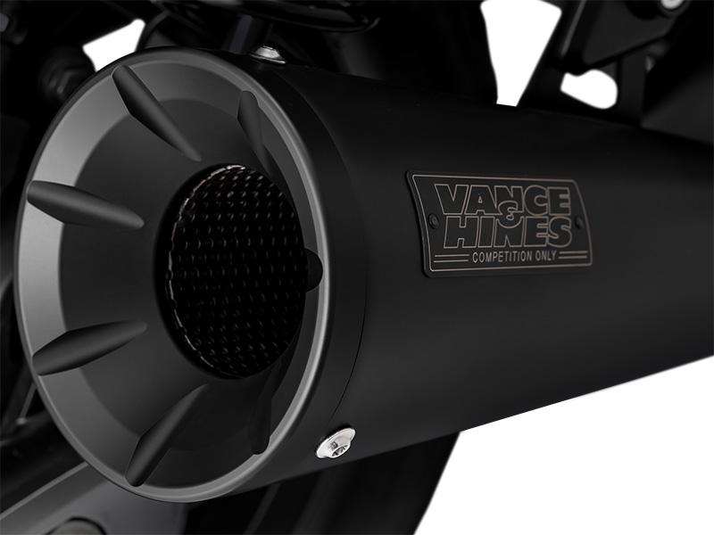 Vance and Hines Upsweep Slip-On Exhaust Honda Rebel 1100 review