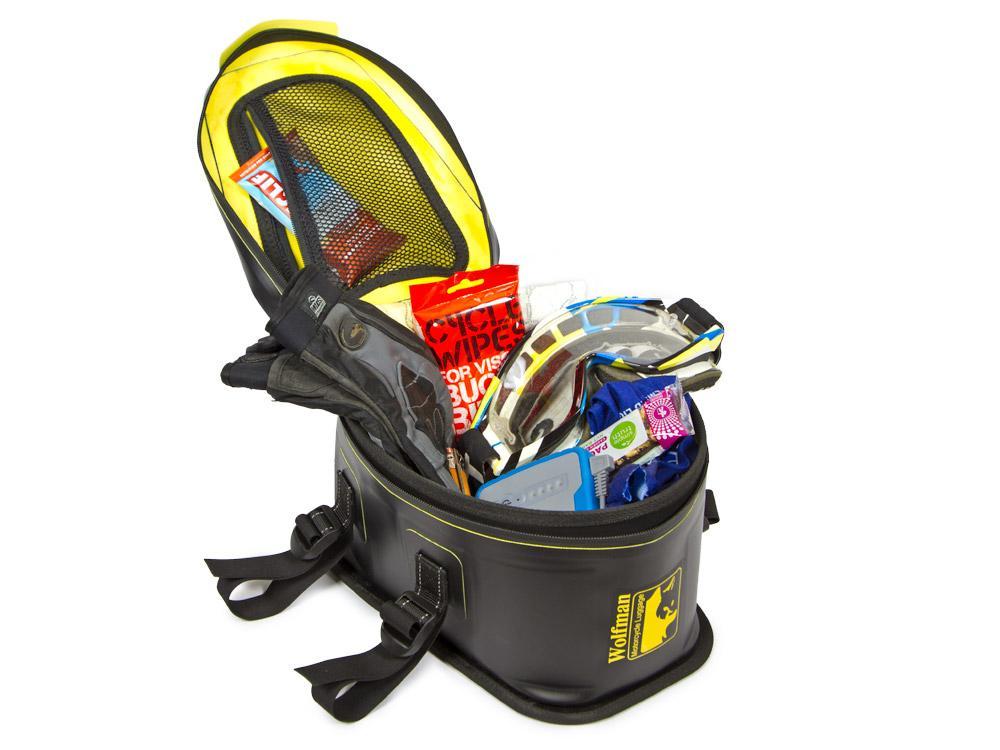 Wolfman Peak Tail Bag WP motorcycle luggage review