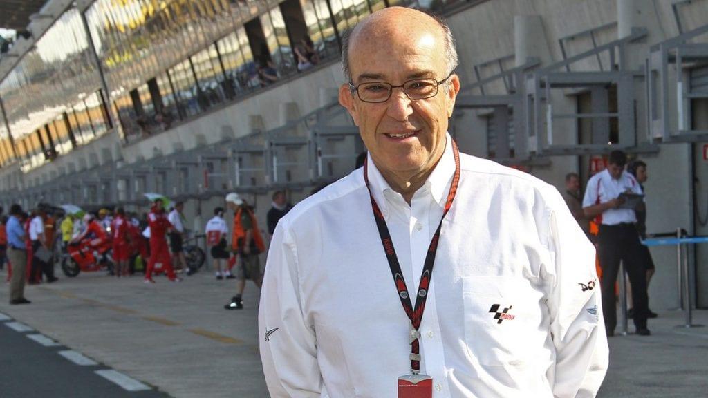 front view of Carmelo Ezpeleta