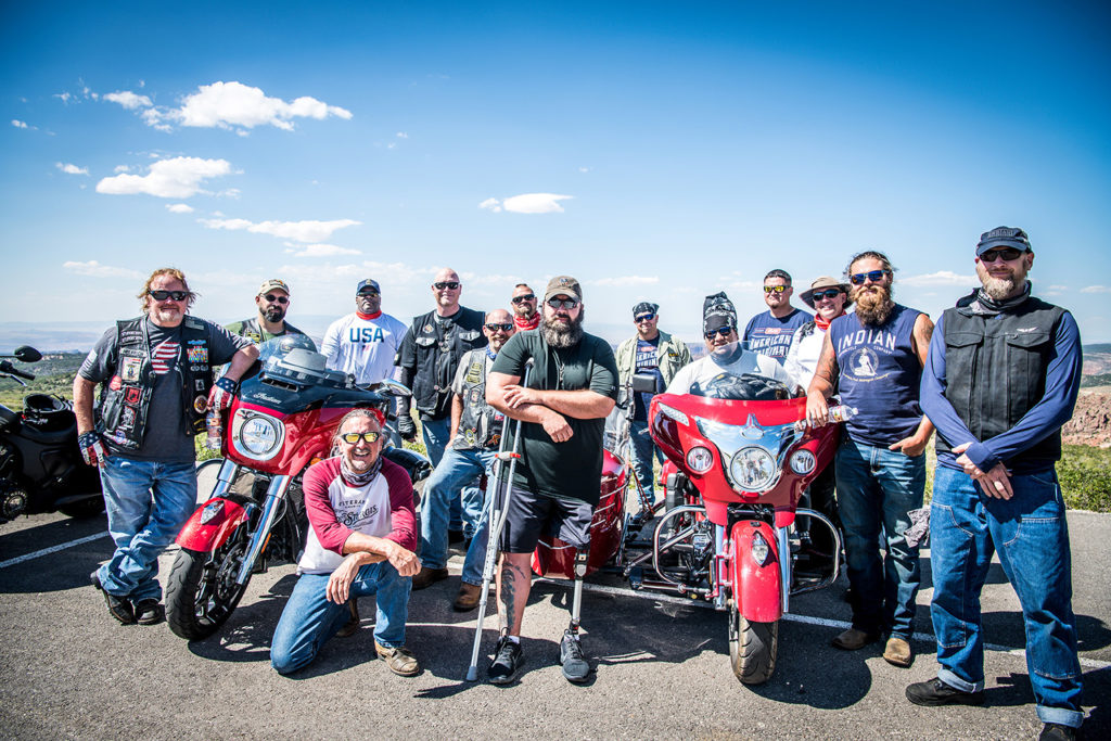 Indian Motorcycle and Veteran's Charity Ride to Sturgis