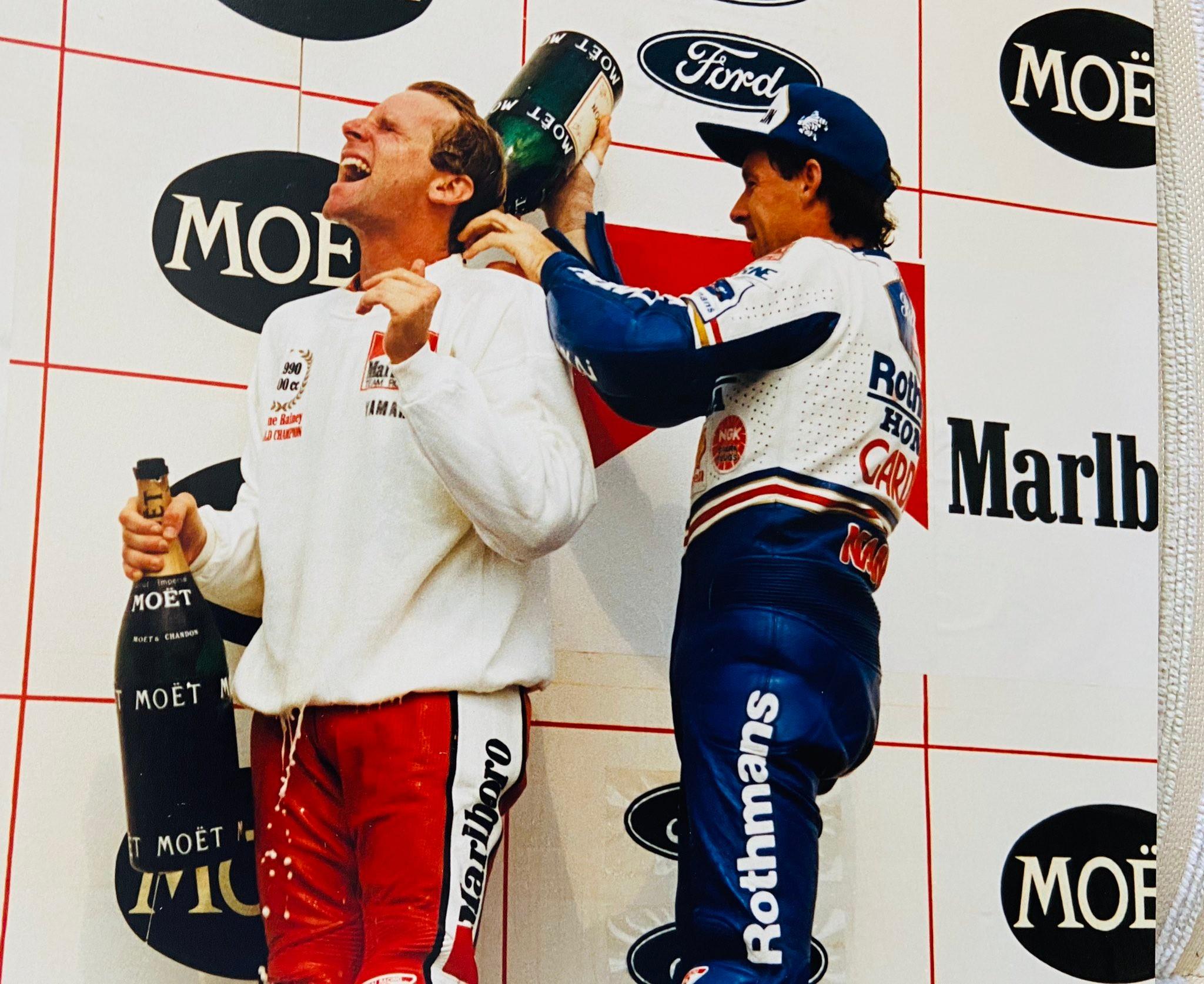 Wayne Rainey at the Czech GP in 1990