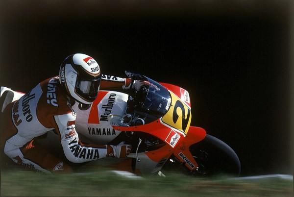 Wayne Rainey racing in 1989