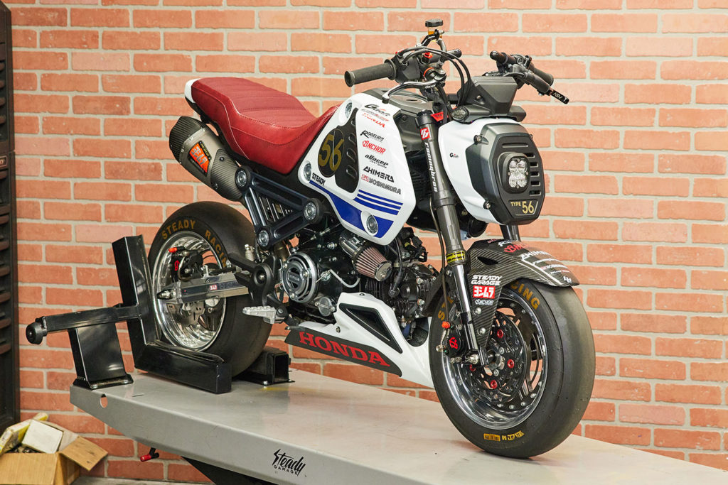 2022 Honda Grom review Steady Garage