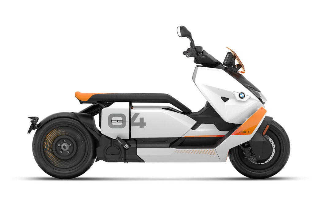 2022 BMW CE 04 Electric Scooter review