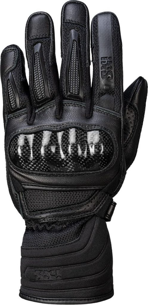a top view of the all-new iXS Carbon-Mesh Sport Glove 4.0