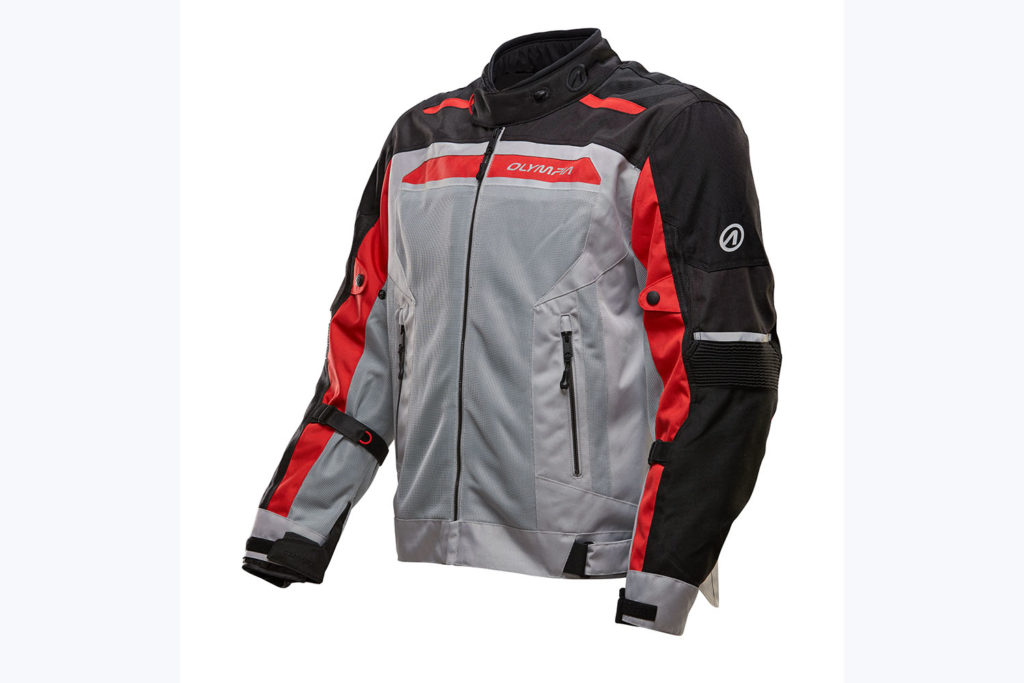 Olympia Airglide 6 Jacket Grey Red Black review
