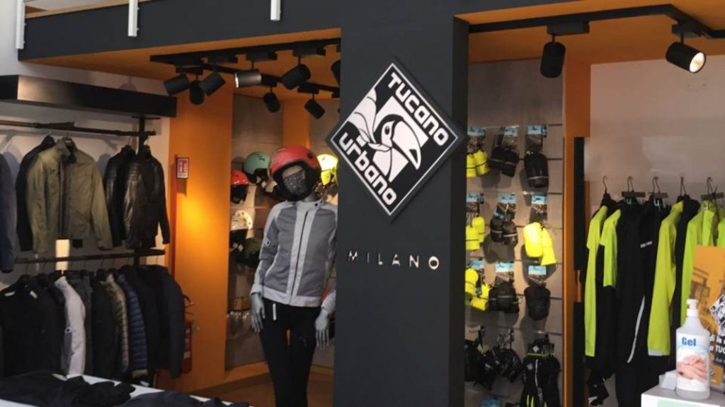 a view of the store of Tucano Urbano