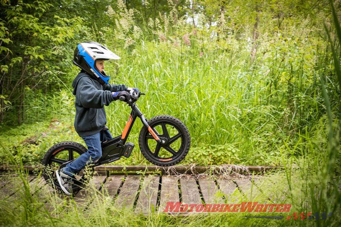 Harley-Davidson electric bicycle balance kids