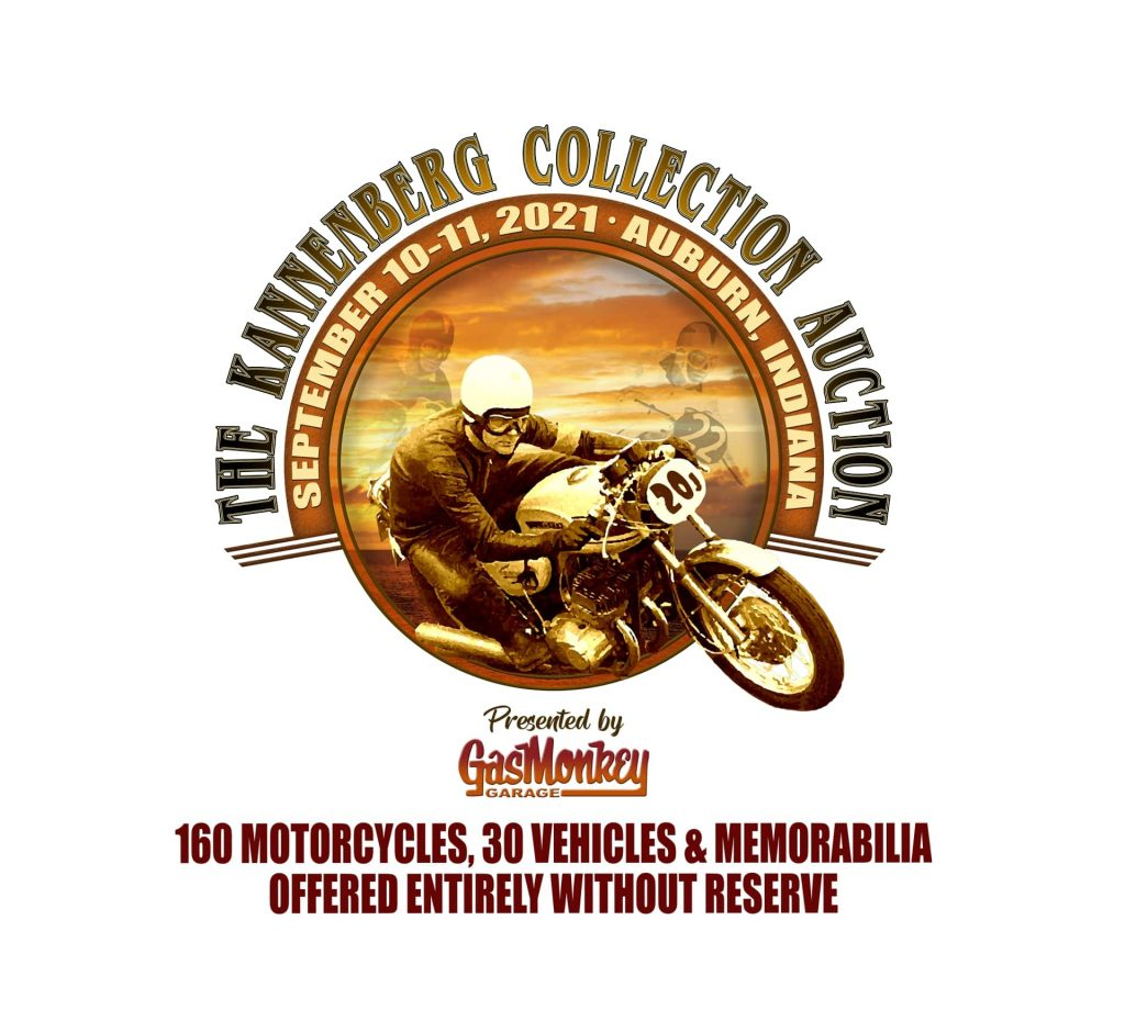 A view of the Kannenberg Collection Auction logo