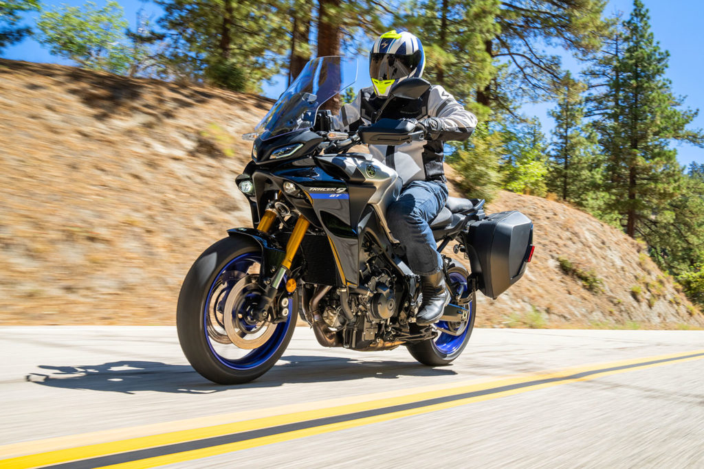2021 Yamaha Tracer 9 GT video review