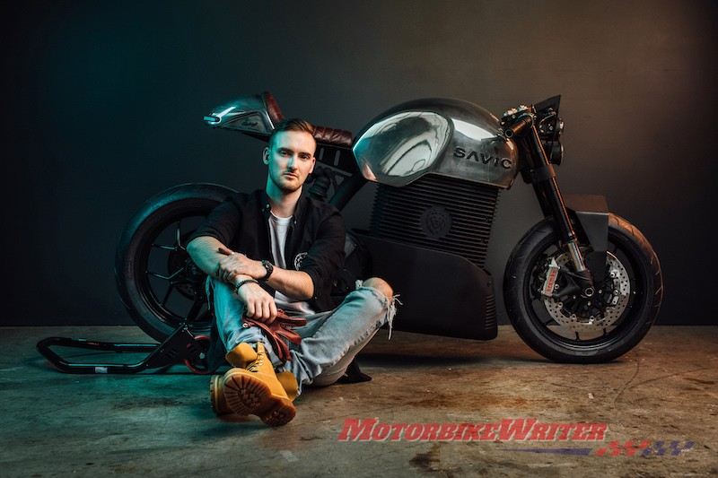 2019 Savic electric motorcycle prototype orders incentives