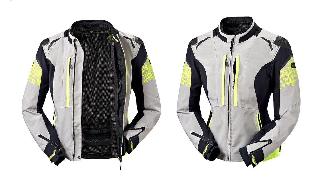 Image of the Rekurv textile jacket